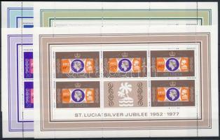 Queen Elizabeth II. mini sheet set, II. Erzsébet királynő kisívsor