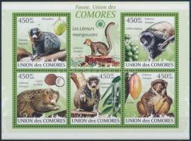 Monkey mini sheet, Majom kisív