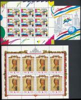 1992-1998 4 klf kisív + 1 blokk