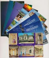 82 db MODERN használatlan külföldi városképes lap / 82 modern unused European town-view postcards
