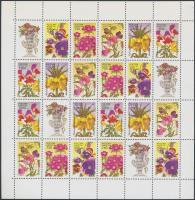 1996 Virág teljes ív Mi 480-484