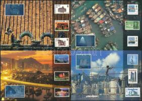6 unused PS-card with hologram, 6 db-os használatlan hologramos díjjegyes levelezőlap sorozat