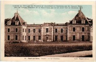 Pont-sur-Seine, La Chateau / castle