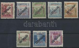 Szeged 1919 8 klf Köztársaság bélyeg Bodor vizsgálójellel (19.850)