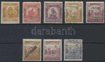 Szeged 1919 8 klf bélyeg Bodor vizsgálójellel (7.000)