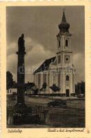Zalahaláp, Katolikus templom, automobil