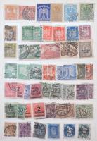 Deutsches Reich, Bayern, NSZK 1900-1990 ~900 db bélyeg 10 lapos közepes berakóban