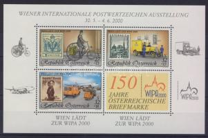 WIPA block, WIPA 2000 bélyegkiállítás blokk, WIPA Block