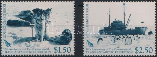 Transz Antarktisz Expedíció 2 érték Trans-Antarctic Expedition 2 values