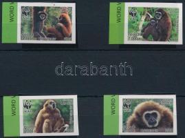 WWF Monkey margin set, WWF: Majmok ívszéli sor