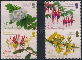 Flowering shrubs set, Virágzó cserjék sor