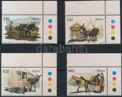2005 Lovak és szamarak ívsarki sor Mi 1409-1412