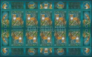 Animal World mini sheet, Állatvilág kisív