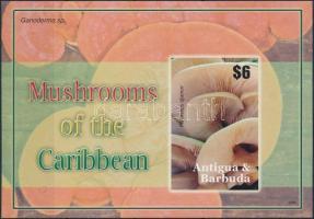 Mushroom imperforated block, Gomba vágott blokk