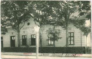 Margitta, Marghita; vasútállomás, kiadja Pollák Lajos / railway station (EK)