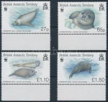 WWF: Fóka ívszéli sor, WWF: Seals margin set