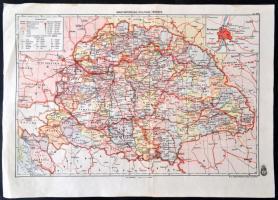 1939 Magyarorszag Politikai Terkepe 1 2500000 Magyar Kiralyi