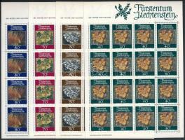 Lichens mini sheet set, Zuzmók kisív sor