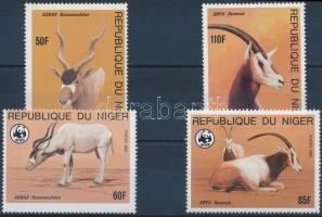 1985 WWF: Antilop sor Mi 941-944