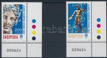 2004 Nyári olimpia ívsarki sor Mi 2974-2975