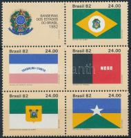 Flags block of 6, Zászlók 6-os tömb