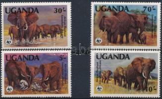 WWF: African Elephant (I) set, WWF: Afrikai elefánt (I.) sor