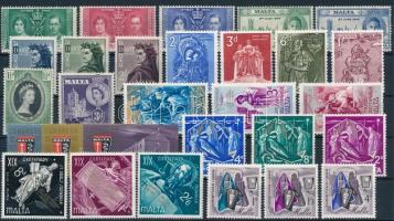 1937-1966 9 db sor és 2 bélyeg