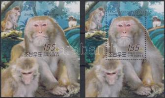Monkey perf and imperf blocks, Majom vágott és fogazott blokk
