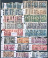 Magyar összeállítás 1920-1944 930 db bélyeg 3 db A4-es berakólapon (88.000)