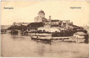 Esztergom, Látkép, bazilika, hajóállomás