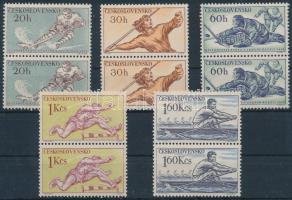 Sport 5 stamps in pairs, Sport 5 érték párokban