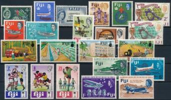 1959-1966 22 stamps, 1959-1966 22 db bélyeg, közte teljes sorok