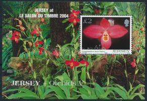 2004 Orchideák blokk Mi 44