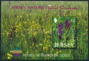 2003 Orchideák, BANGKOK nemzetközi bélyegkiállítás blokk Mi 38 I