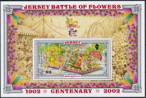 2002 Virágfesztivál blokk Mi 33