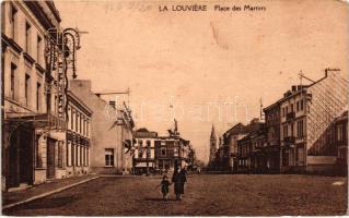 La Louviere, Place des Martyrs / square