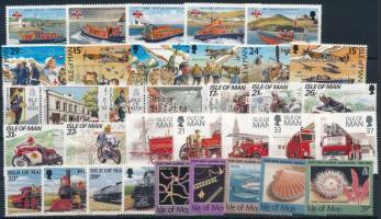 1990-1992 32 klf bélyeg, közte sorok
