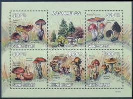 Gombák kisív, Mushroom minisheet