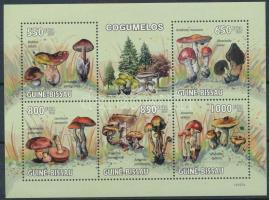 Mushroom minisheet, Gomba kisív