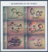 Mushroom minisheet, Gombák kisív