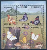 2000 Lepkék kisív Mi 1657-1662