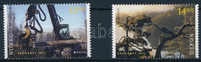 2011 Európa CEPT: Az erdő sor Mi 1758-1759