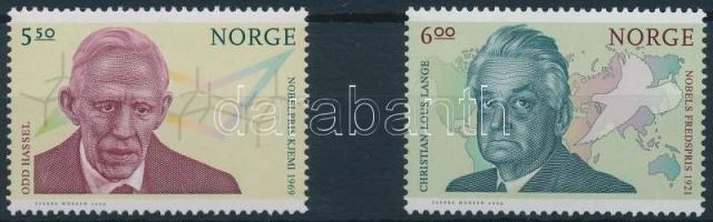 2004 Nobel-díjasok sor Mi 1518-1519