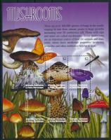 Gomba kisív Mushrooms minisheet