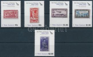 New Zealand stamps (II) set, 150 éves az új zélandi bélyeg (II) sor