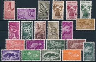 1952-1960 21 Animals stamp, 1952-1960 21 db Állat bélyeg