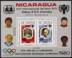 1980 Nemzetközi Gyermekév - SOS Gyermekfalu - Olimpia blokk Mi 110A