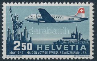 Swissair's first flight, Swissair első repülése