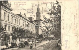 Budapest VI. Nagymező utca, Terézvárosi templom 44. sz. Divald Károly (apró szakadás / small tear)