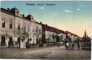 Munkács, Mukacheve; Fő utca / main street (EB)